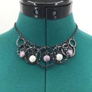 Lia Sophia Galactic Hematite Necklace